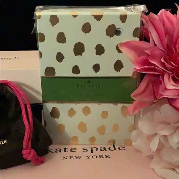 ♠️ KATE SPADE Loose Note Holder with Pen